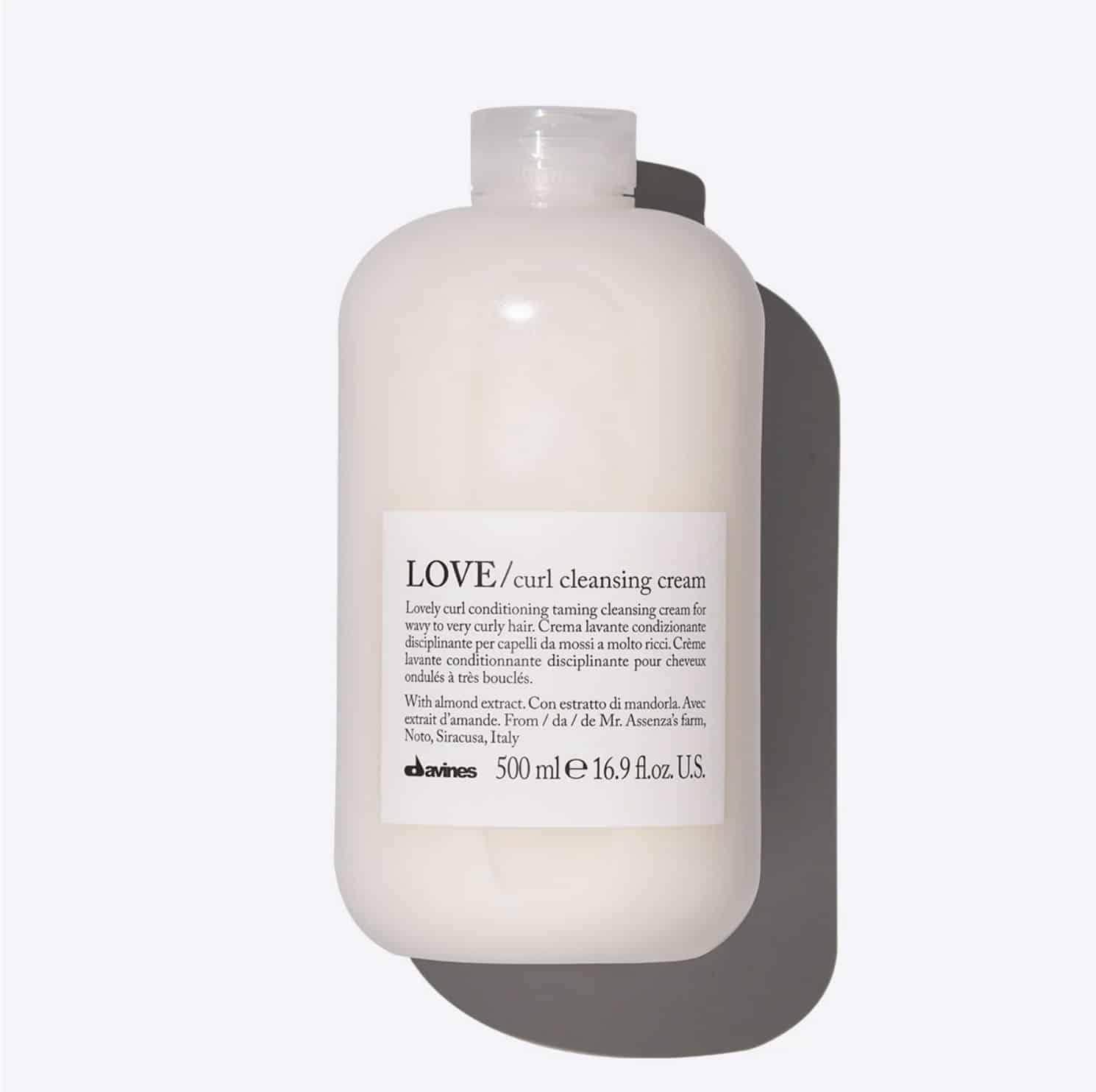 La crème lavante curl cleansing de Davines